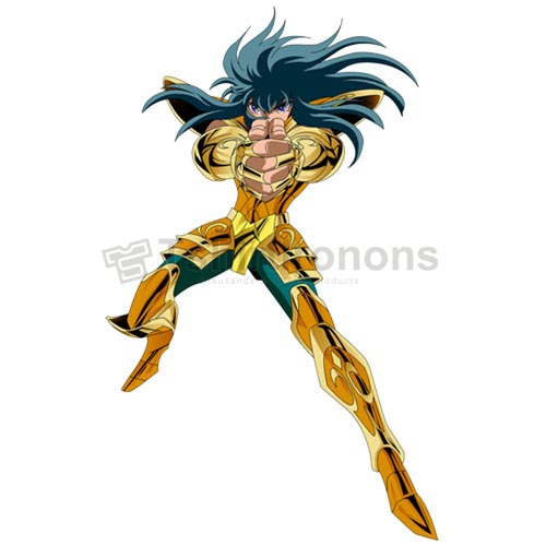 Saint Seiya T-shirts Iron On Transfers N4444
