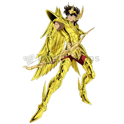 Saint Seiya T-shirts Iron On Transfers N4445