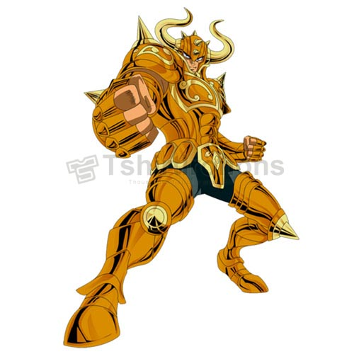 Saint Seiya T-shirts Iron On Transfers N4446