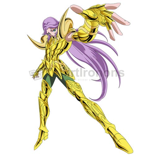 Saint Seiya T-shirts Iron On Transfers N4447