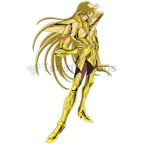 Saint Seiya T-shirts Iron On Transfers N4451