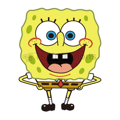 SpongeBob SquarePants T-shirts Iron On Transfers N4209