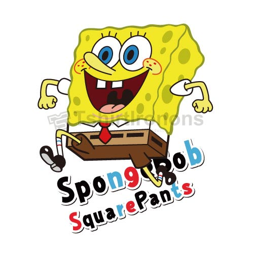 SpongeBob SquarePants T-shirts Iron On Transfers N4224