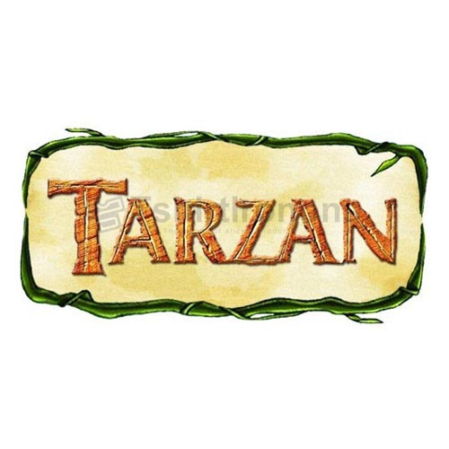 Tarzan T-shirts Iron On Transfers N6419