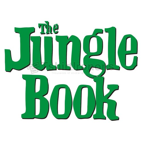 The Jungle Book T-shirts Iron On Transfers N6433