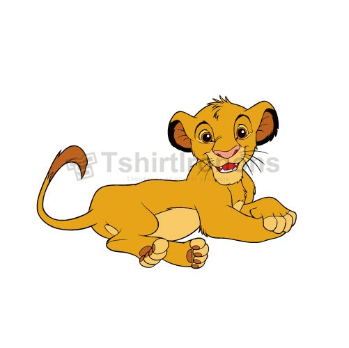 The Lion King T-shirts Iron On Transfers N4241