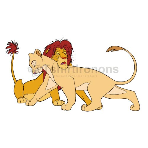 The Lion King T-shirts Iron On Transfers N4248
