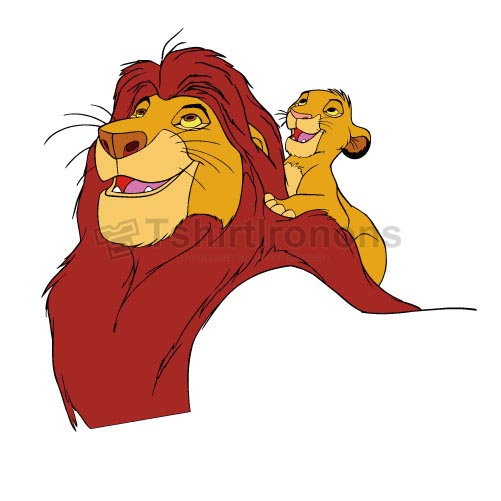 The Lion King T-shirts Iron On Transfers N4260