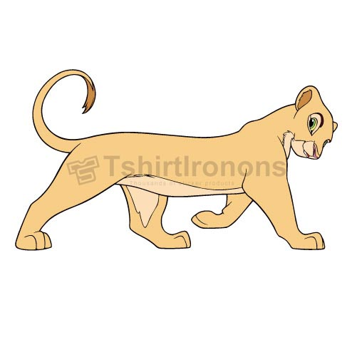 The Lion King T-shirts Iron On Transfers N4278