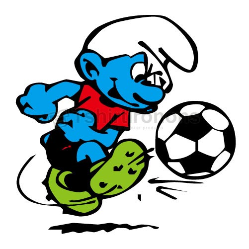 The Smurfs T-shirts Iron On Transfers N4374