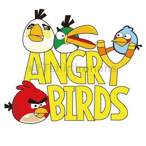 Angry Birds T-shirts Iron On Transfers N2407