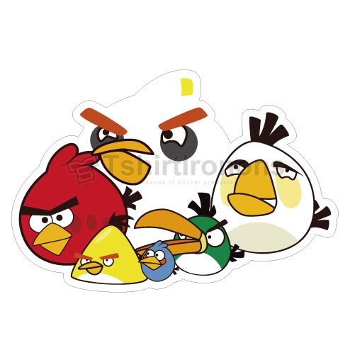 Angry Birds T-shirts Iron On Transfers N2412