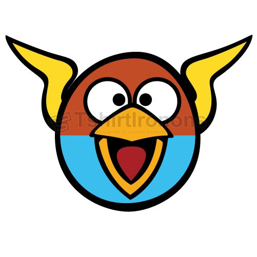 Angry Birds T-shirts Iron On Transfers N2419