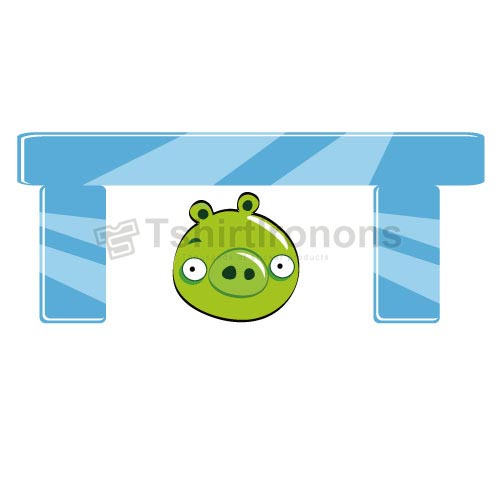 Angry Birds T-shirts Iron On Transfers N2425