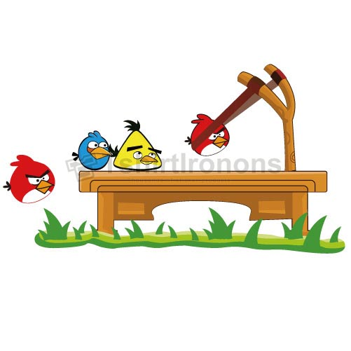 Angry Birds T-shirts Iron On Transfers N2436