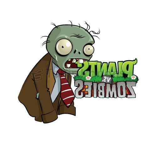 Plants vs. Zombies T-shirts Iron On Transfers N2514
