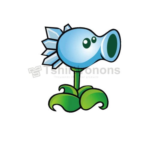 Plants vs. Zombies T-shirts Iron On Transfers N2517