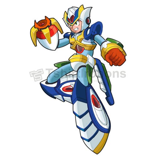 Rockman T-shirts Iron On Transfers N7013