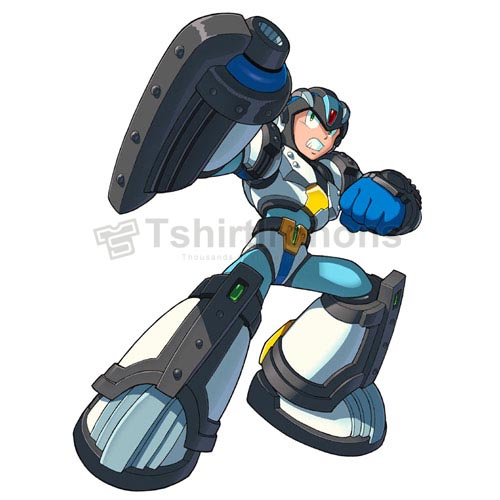 Rockman T-shirts Iron On Transfers N7027