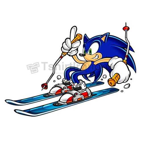 Sonic The Hedgehog T Shirts Iron On Transfers N7962