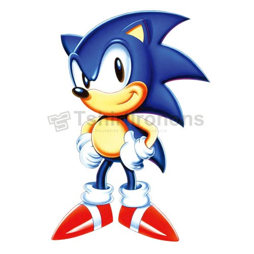 Sonic the Hedgehog T-shirts Iron On Transfers N7979