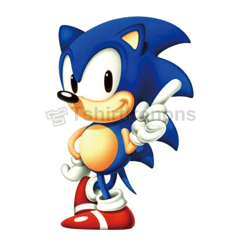 Sonic the Hedgehog T-shirts Iron On Transfers N7984