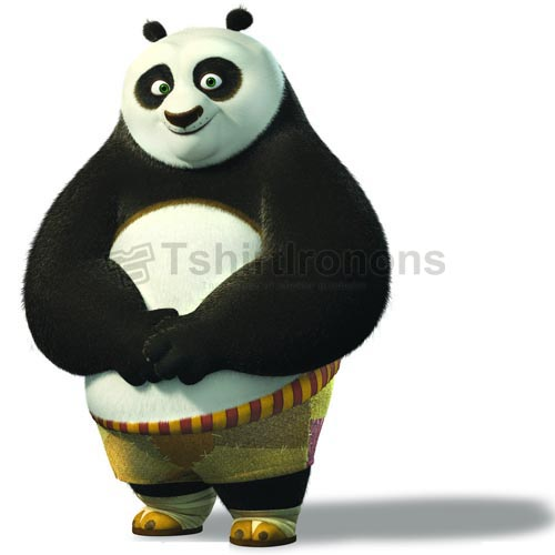 Kung Fu Panda T-shirts Iron On Transfers N2654