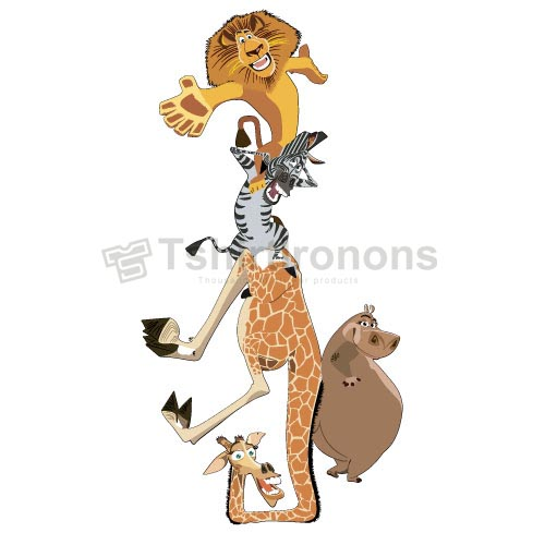 Madagascar T-shirts Iron On Transfers N5641
