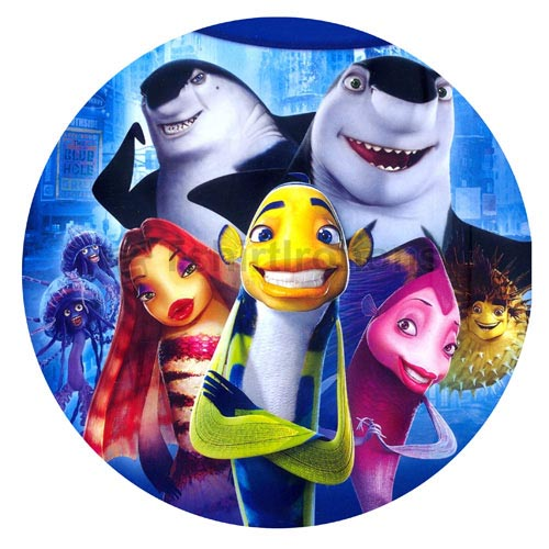 Shark Tale T-shirts Iron On Transfers N5284