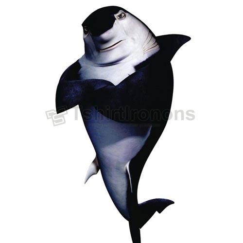 Shark Tale T-shirts Iron On Transfers N5285