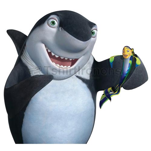 Shark Tale T-shirts Iron On Transfers N5291