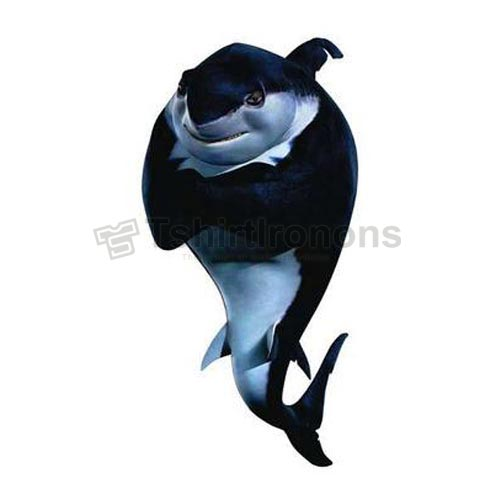 Shark Tale T-shirts Iron On Transfers N5294