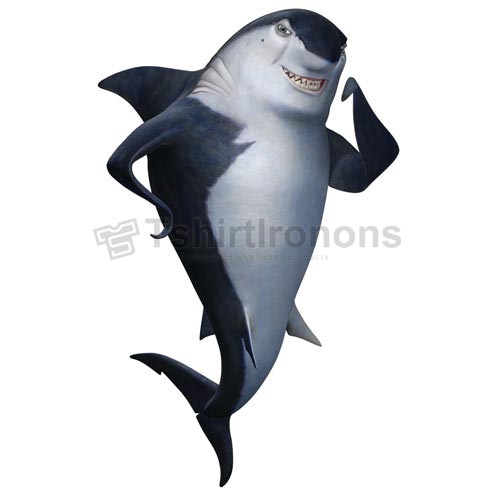 Shark Tale T-shirts Iron On Transfers N5298