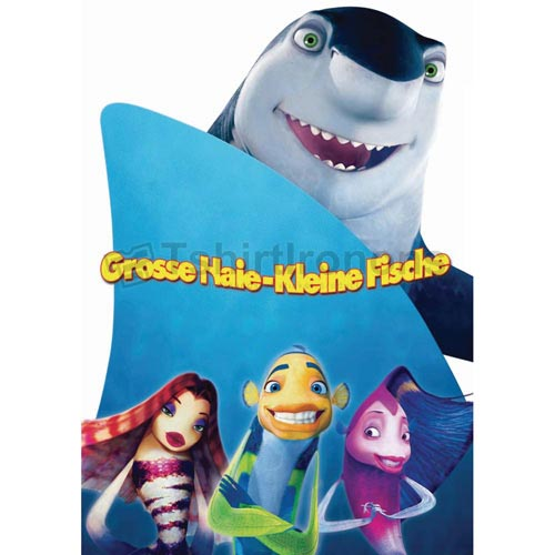 Shark Tale T-shirts Iron On Transfers N5299