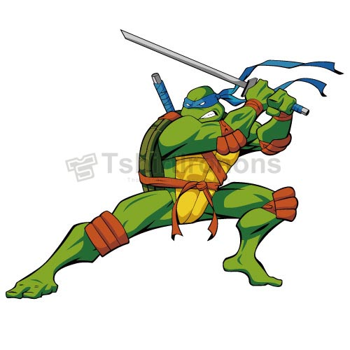 Teenage Mutant Ninja Turtles T-shirts Iron On Transfers N268