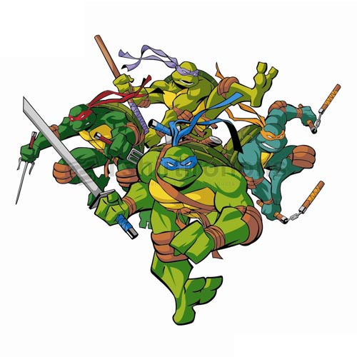 Teenage Mutant Ninja Turtles T-shirts Iron On Transfers N271