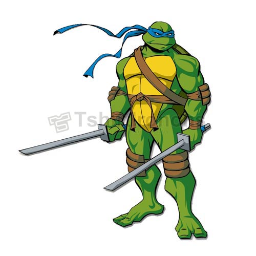 Teenage Mutant Ninja Turtles T-shirts Iron On Transfers N272
