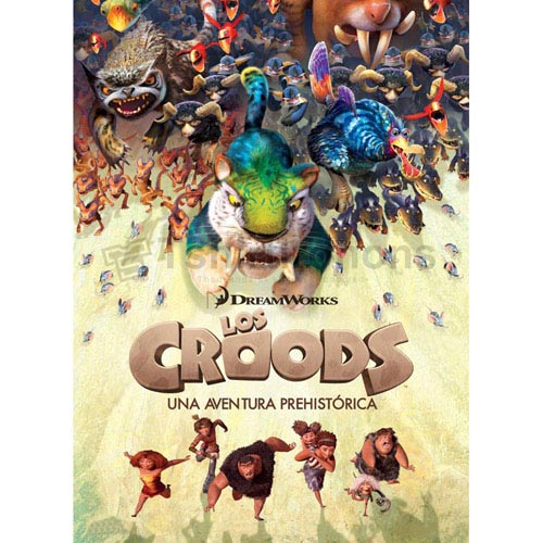 The Croods T-shirts Iron On Transfers N6232