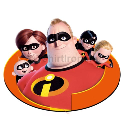 The Incredibles T-shirts Iron On Transfers N6217