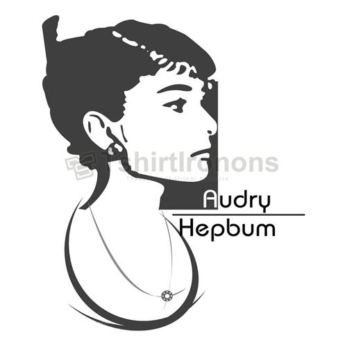 Audrey Hepburn T-shirts Iron On Transfers N7114