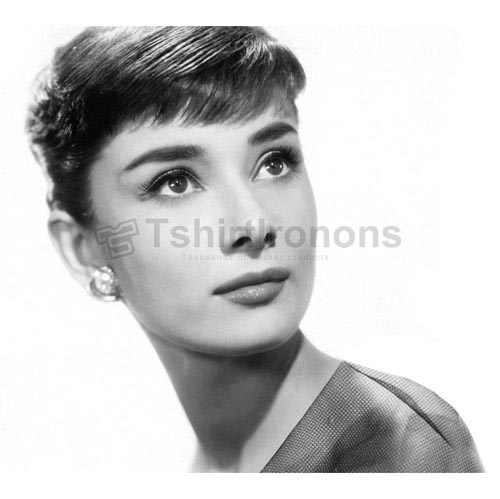 Audrey Hepburn T-shirts Iron On Transfers N7123