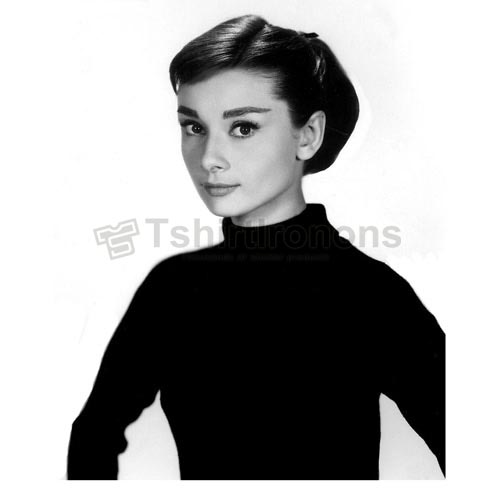 Audrey Hepburn T-shirts Iron On Transfers N7125