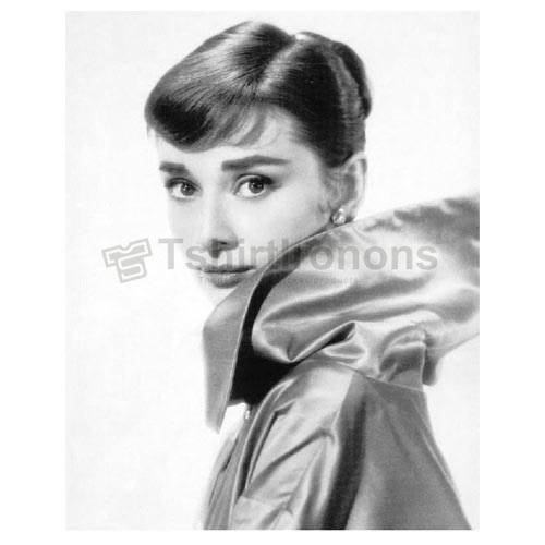 Audrey Hepburn T-shirts Iron On Transfers N7127