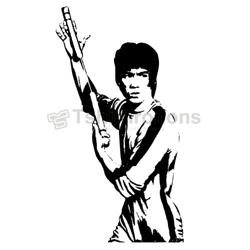 Bruce Lee T-shirts Iron On Transfers N7164