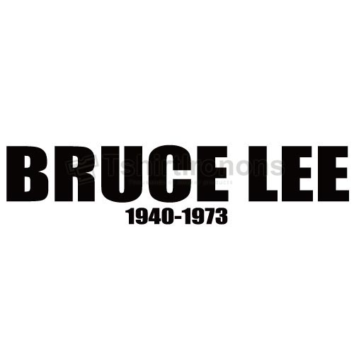 Bruce Lee T-shirts Iron On Transfers N7173