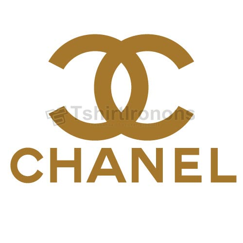 Chanel t shirts iron on transfers n8316
