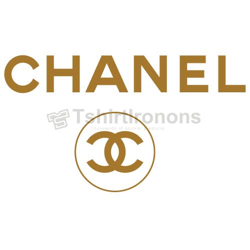 Chanel T-shirts Iron On Transfers N8318