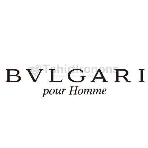 Bvlgari T-shirts Iron On Transfers N2839