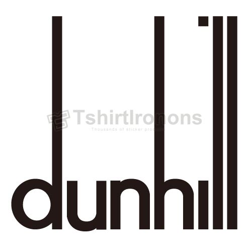 Dunhill T-shirts Iron On Transfers N2847