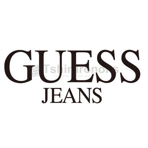 Guess T-shirts Iron On Transfers N2856